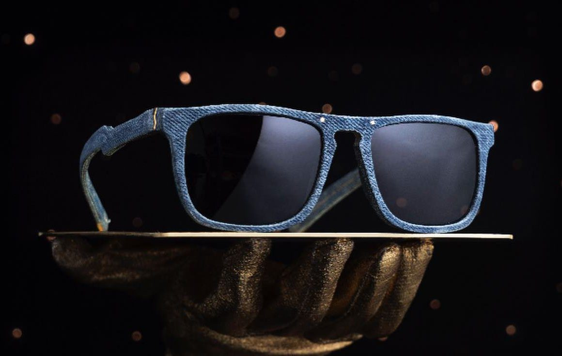 Mosevic Upcycles Old Jeans Into Handmade Sunglasses