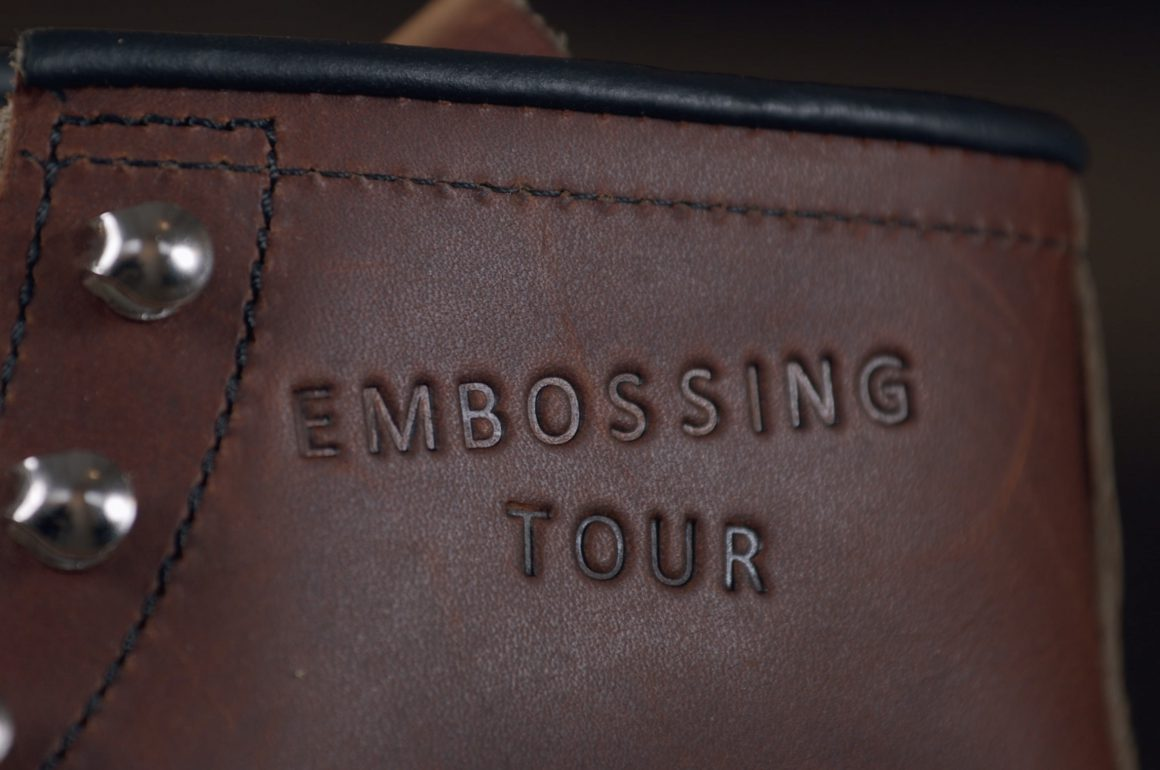 The Red Wing Shoes European Embossing Tour