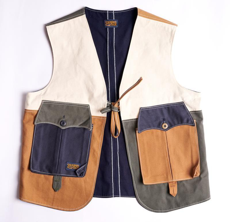 Handmade Utility Vests By Solider Blue