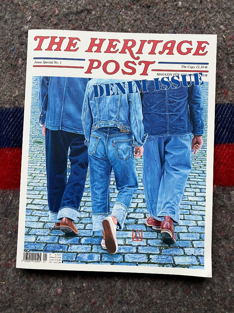 heritage post denim issue