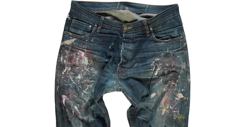 Worn-Out Projects X Eat Dust Jeans (7 Years Old)