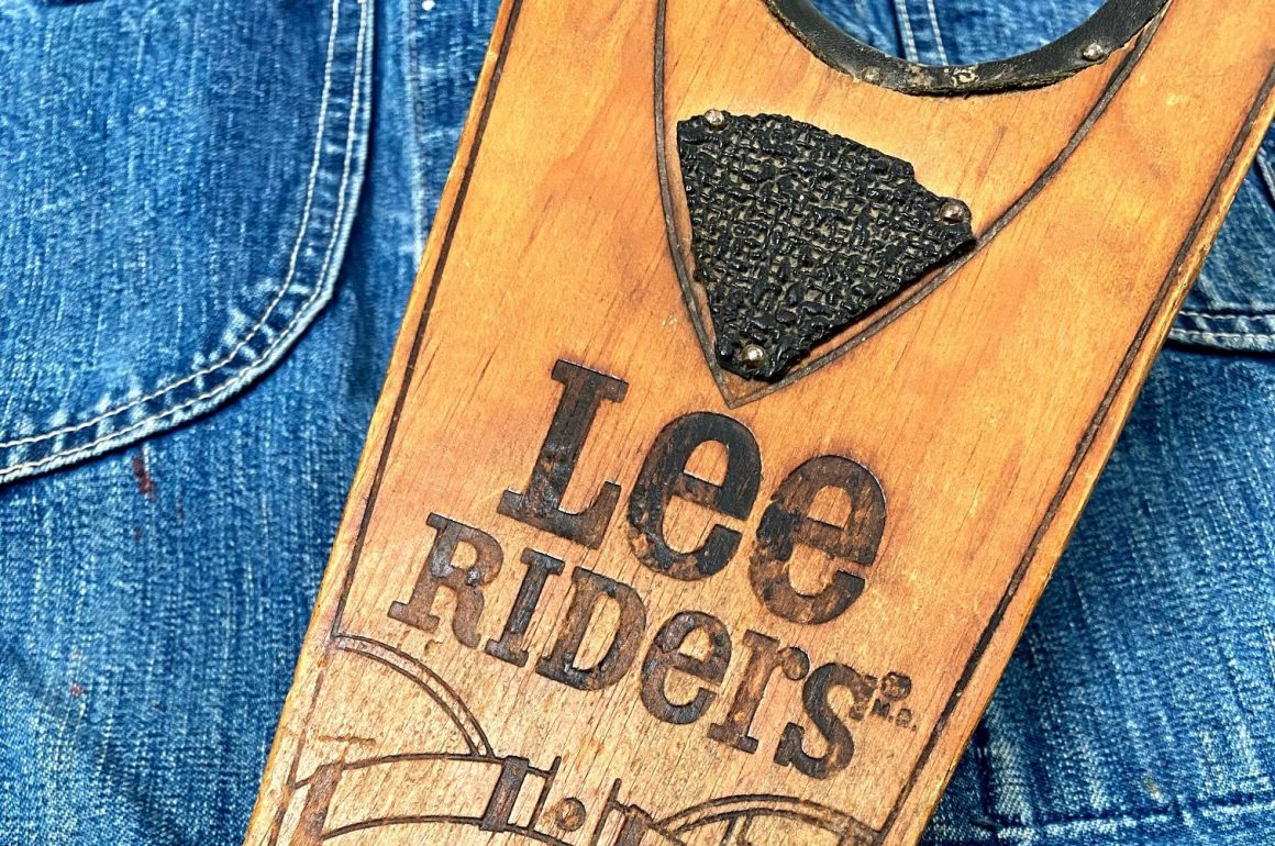 Original 1970s Boot Jack Branding Item By Lee Jeans