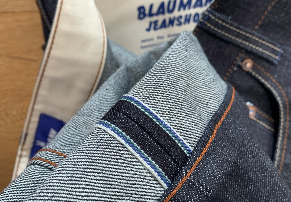 Blaumann Jeanshosen Jeans Made With Exclusive Selvage Kuroki Fabric