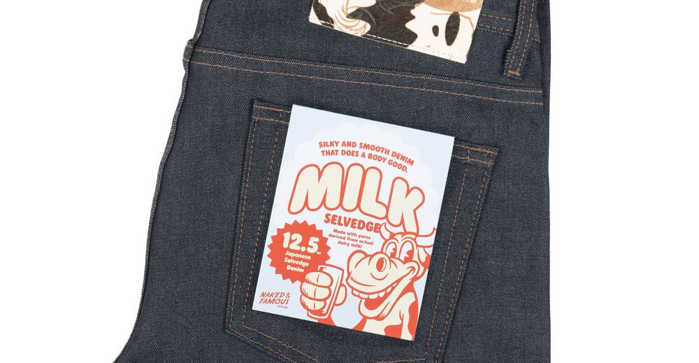 The Special Milky Selvedge Jeans By Naked & Famous