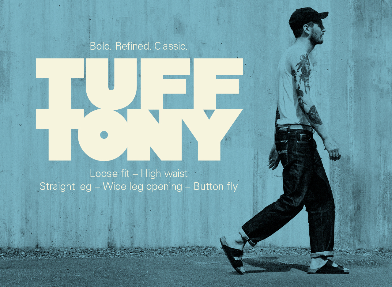 nudie tuff tony