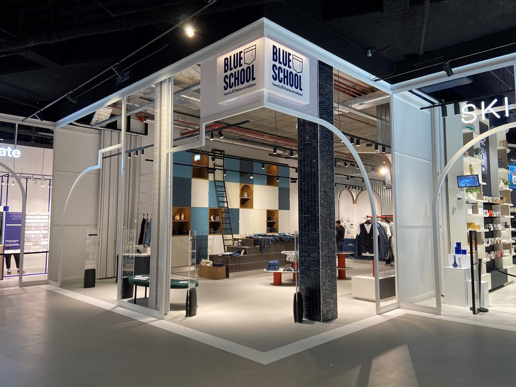 Blue School: A New Retail And Denim Experience Education