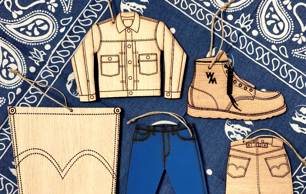 Handmade Denim Woods Icon Collection By Designer Hugo García