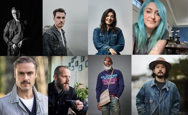 The Final Panel For This Year's Indigo Invitational Denim Contest