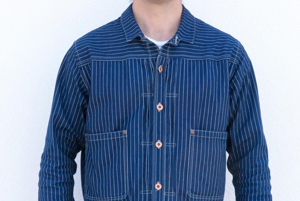 The New JWJ Wabash Triple Pleated Jacket