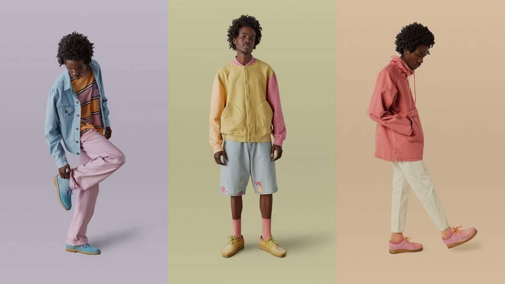 Levi's Vintage Clothing X Clarks Originals Collaboration Collection