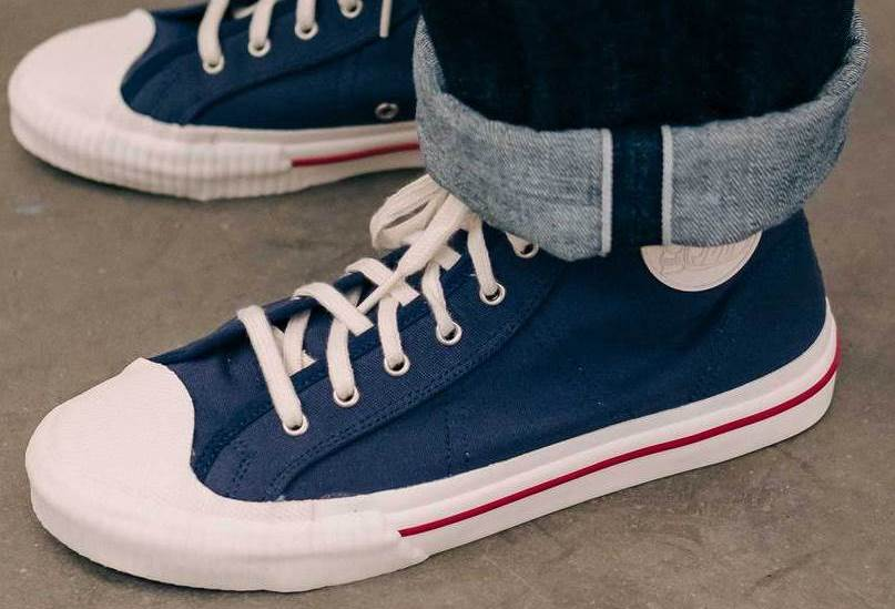 Eat Dust's First In-House Designed Jay High-Top Canvas Sneakers