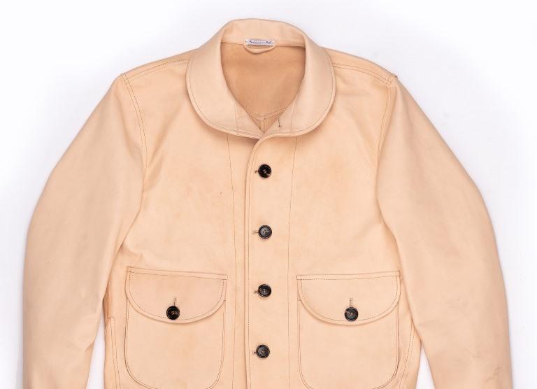 The Shangri-La Heritage Cossack Natural Leather Jacket
