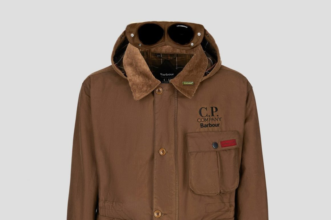 The Released C.P. Company X Barbour Collaboration Collection
