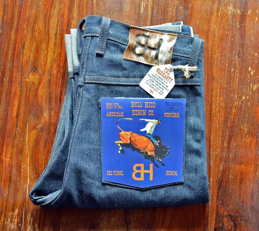 The Bull Hide Denim CO. Jeans Brand Produces Made In America Jeans