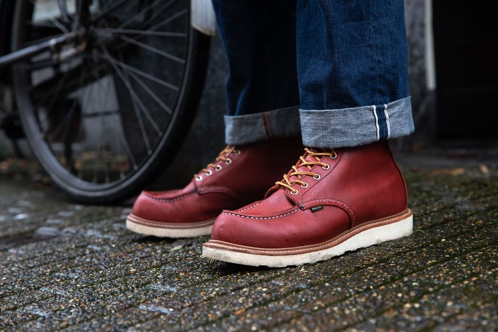 The New Limited-Edition Red Wing Shoes 8864 All-Weather Gore-Tex Moc Toe